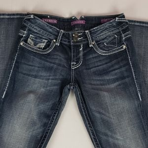 Vigoss | Women's Embellished Premium Jean Size 3
